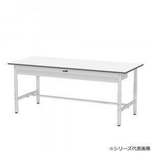 YamaTec SUPA-1890W-WW ワークテーブル 150シリーズ 高さ調整 H600~900mm ワイド引出し付き