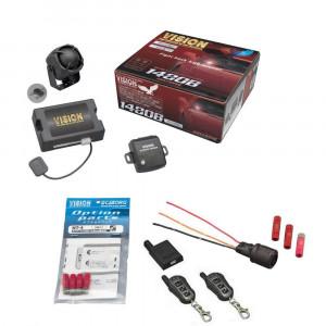 盗難発生警報装置 ハイグレード・スマートセキュリティ トヨタ共通データ書込み済 SPパック 1480B+UPS-33+NT-4+TR365D