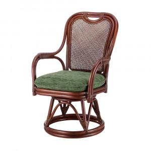今枝ラタン 籐 シーベルチェア 回転椅子 グローバル A-255LD