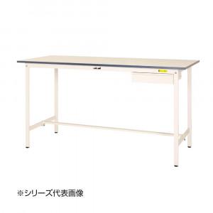 山金工業 YamaTec SUPH-775U-WW ワークテーブル150シリーズ 固定式 キャビネット付 H950mm 750×750mm