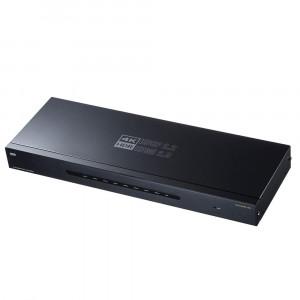 4K/60Hz・HDR対応HDMI分配器 8分配 VGA-HDRSP8