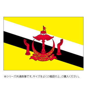 N国旗 ブルネイ No.1 W1050×H700mm 23391