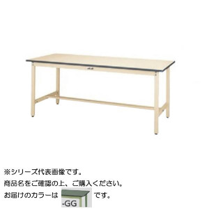 SWRH-1575-GG+S1-G ワークテーブル 300シリーズ 固定 H900mm 1段 浅型W394mm キャビネット付き