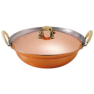 寄せ鍋 よせ鍋 銅製鍋 銅の鍋 銅 ちり鍋 たらちり鍋 30cm