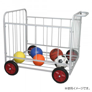 ボールカゴ バスケ ボールカゴ バレー ボールカゴサッカー ボール収納ラック