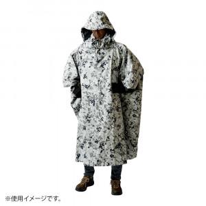 アンアクター 迷彩ポンチョ ホワイトカモ GKP02
