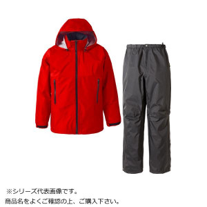 GORE・TEX ゴアテックス レインスーツ メンズ レッド L SR136M