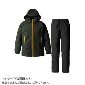 GORE・TEX ゴアテックス パックライトレインスーツ メンズ モスグリーン 3L SR137M