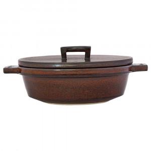 長谷園 ビストロ土鍋 アメ 15781