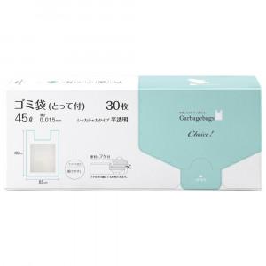 オルディ チョイスゴミ袋とって付45L0.015mm半透明30P×24冊 11010702