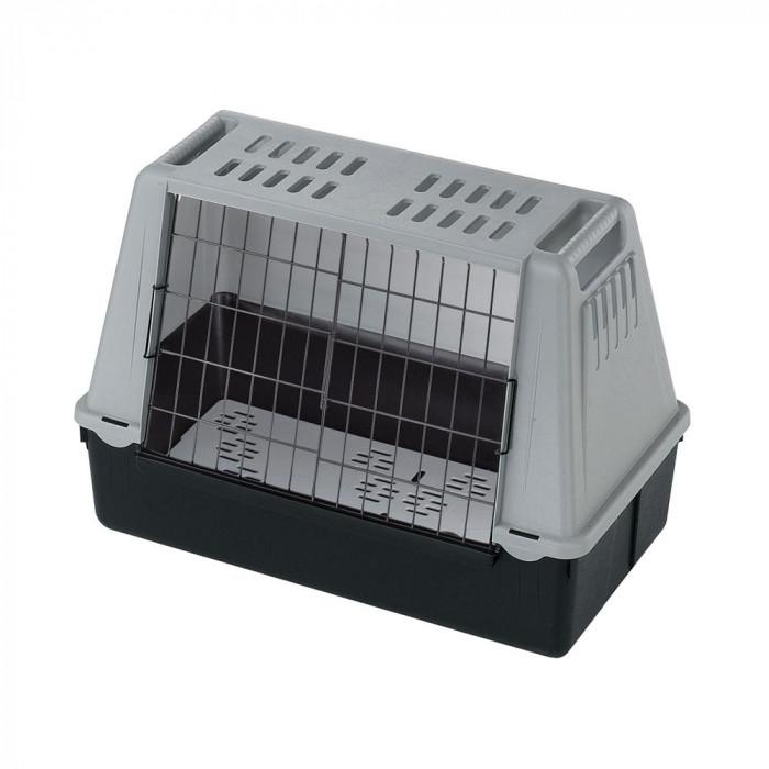ちょっとしたお出かけや旅行にどうぞ ファープラスト アトラスカー MINI 犬 猫用キャリー グレー 73079021