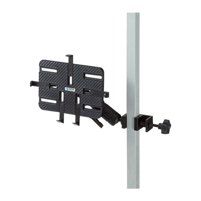 ラッピング無料 7~11インチタブレットホルダー 支柱取り付け用タブレットホルダー CAR-SPHLD3 人気ブレゼント 2関節