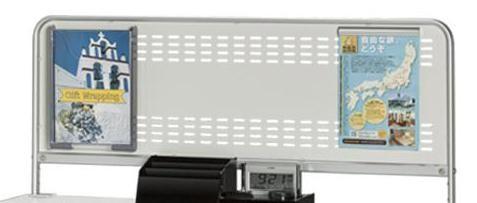 ナカキン KDS記載台用掲示ボード W1200 KDSO-120B