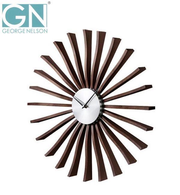 ジョージネルソン 掛け時計 壁掛け時計 デザイナー 有名 掛け時計 おしゃれ