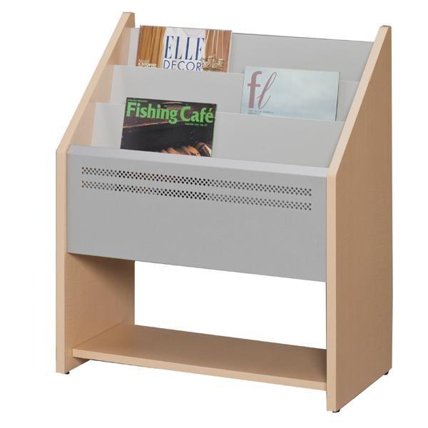 マガジンラック オフィス 木製 おしゃれ 雑誌棚 オープンラック 3段