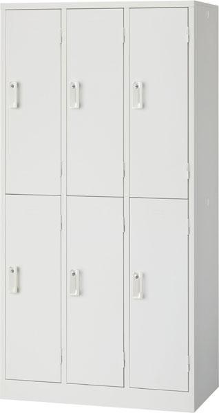 6人用ロッカー オフィスロッカー 更衣室 スチールロッカー 鍵付き 事務用品