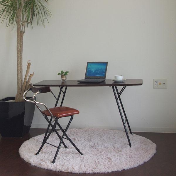 パソコンテーブル おしゃれ おりたたみ 折り畳みパソコンテーブル