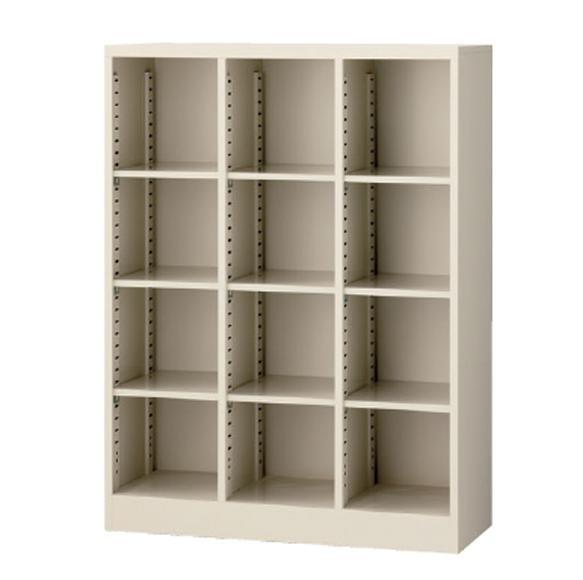 オープン書庫 スチール オフィス スチール書庫 業務用 業務用書庫 棚 3列4段