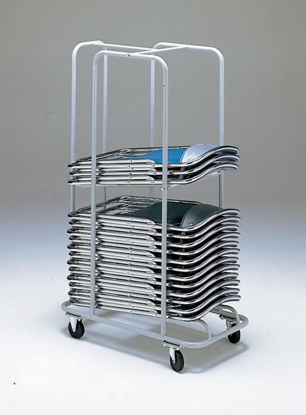 パイプ椅子収納用台車 折りたたみパイプ椅子台車 パイプ椅子 収納