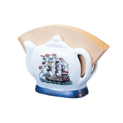 陶器 コーヒーフィルターホルダー コーヒーフィルターケース おしゃれ