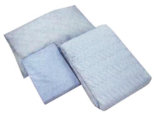 宇都宮製作 お得な寝具3点セットA(ベッドパッド&ボックス型シーツ&枕カバー/各1枚ずつ)ブルー 6139-1750 85cm