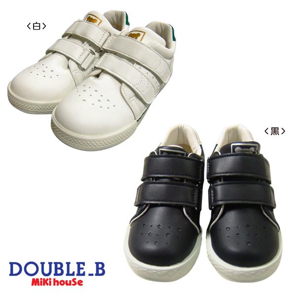 【海外販売専用】DoubleB(ダブルB)ソフトレザーシューズ (15cm-20cm)(61-9405-979)