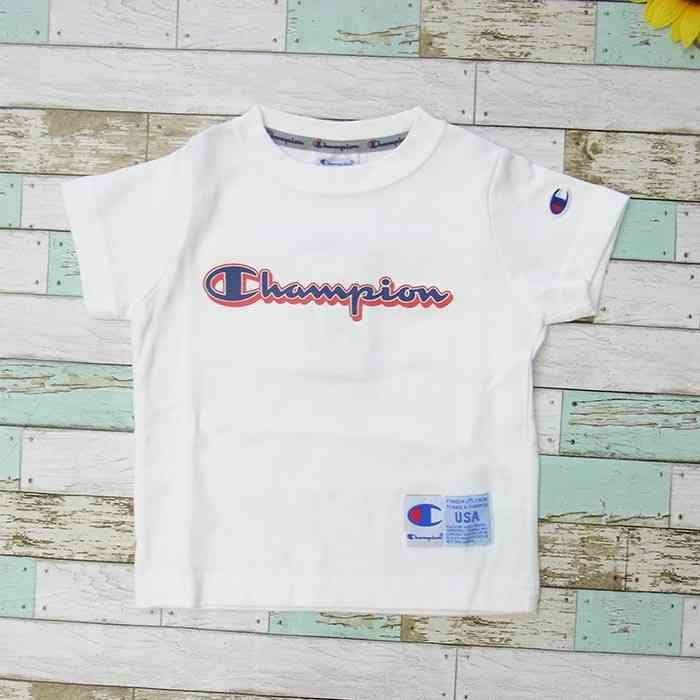 f9a7eac203d0 ... Child short sleeves champion (100-140cm) collaboration T of the champion  logo T ...