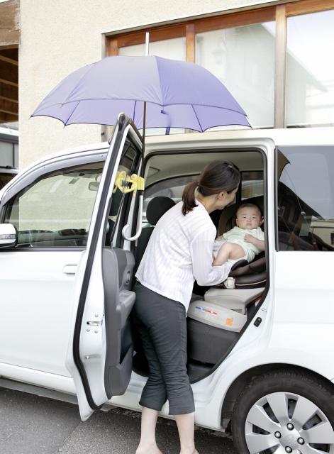 【送料無料・定形外郵便・代引不可】】車用傘ホルダーD81