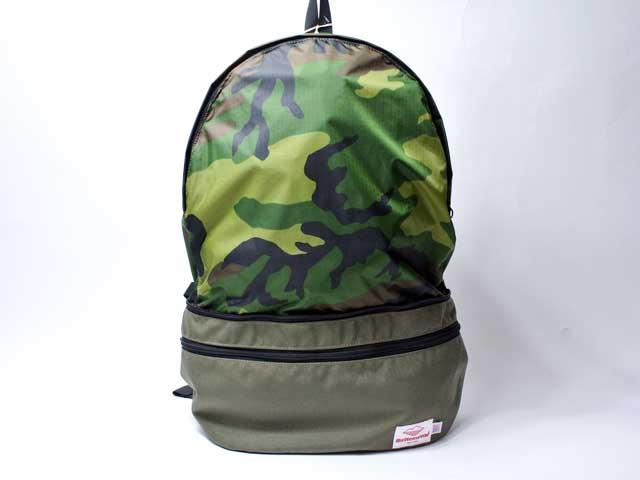 【Battenwear × J.CREW】Eitherway bag/J.クルー別注バテンウェア・コーデュラナイロン2WAYバッグ/オリーブ (米国限定・アメリカ製)