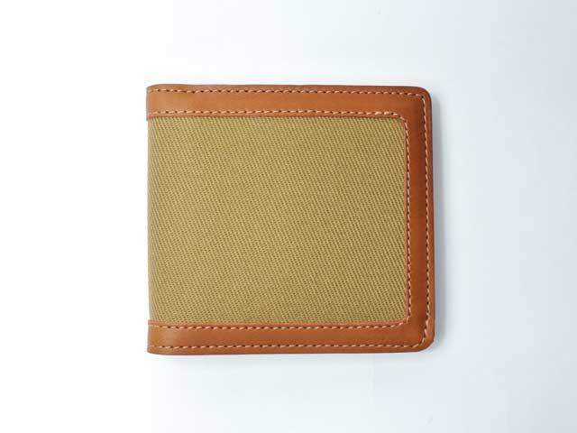 【Filson/フィルソン】Rugged Twill Packer Wallet/ラギットツイル・パッカーウォレット/タン (Wickett & Craig社ベジタブルタンニン・ウェザープルーフレザー・ハンドクラフト・二つ折り財布・アメリカ製)