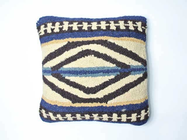 【PENDLETON/ペンドルトン】Hooked Pillow/フックドピロー・Rio Canyon リオキャニオン (アメリカンネイティブ柄クッション)