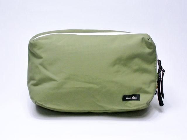 【Steven Alan/スティーブン・アラン】Tobias Convertible Belt Bag・リップストップ・コーデュラナイロン・2WAYウェストバッグ/green(カーキグリーン) (スティーブンアランオリジナルバッグ・止水ジップ・USAリミテッドエディション)