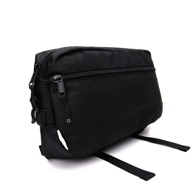 【DSPTCH/ディスピッチ】SLINGPACK・スリングパック・1680Dバリスティックナイロン・15L/ブラック (サンフランシスコ発・ミルスペック都会派バッグ)