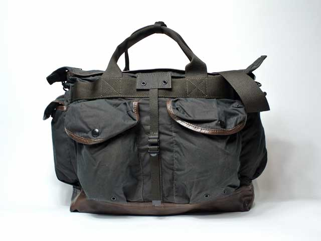 【RRL&CO./ダブルアールエル】2019SS Dead Stock/Camo-Print Messenger Bag/1930年代・ミリタリーカモフラプリント・メッセンジャーバッグ (完売モデル・ヴィンテージ・ミリタリー・ワーク)