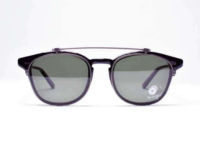【SHWOOD/シュウッド 】Kennedy Flip Acetate Sunglasses・Grey Polarized・ケネディ フリップ アセテートサングラス (ポートランドのウッドサングラスメーカー・Made in USA)