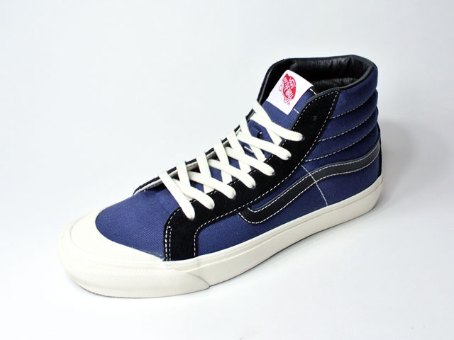 【Vans Vault】2019SS デッドストック・OG STYLE 138 LX/black&insignia blue (SK-8・70~80年代復刻モデル・大人のリッチなヴァンズ)