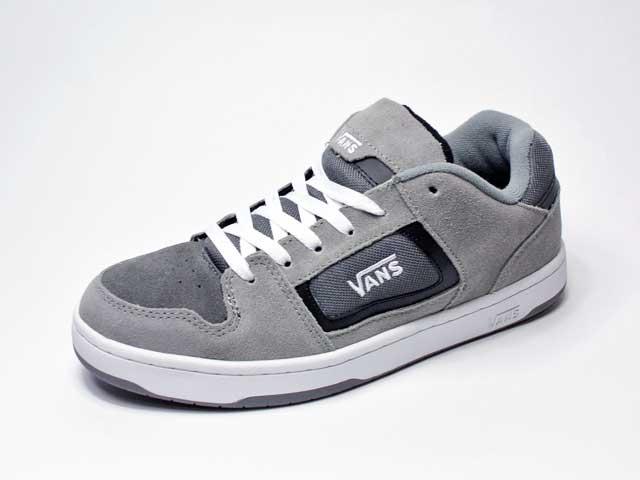 【Vans】DOKET/ドケット・grey/charcoal (日本未展開レアシューズ・90年代スケートシューズリプロダクト)