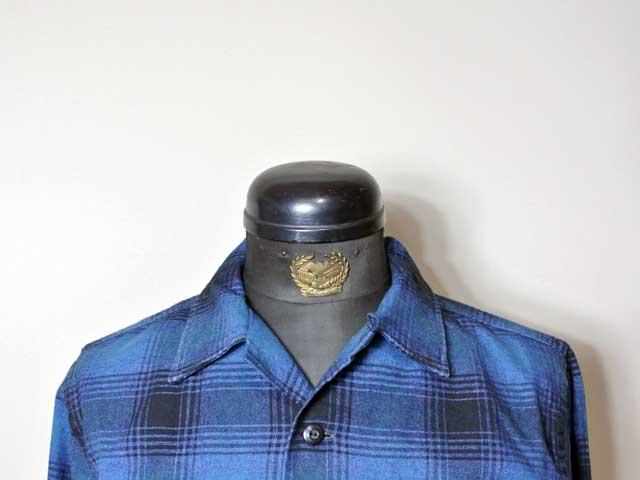 【RRL&CO./ダブルアールエル】2019AW Dead Stock/Plaid Cotton-Wool Camp Shirt/40年代・コットンウール・オンブレチェック・ボックスシャツ (50s・ロカビリー・ヴィンテージ・ミリタリー)