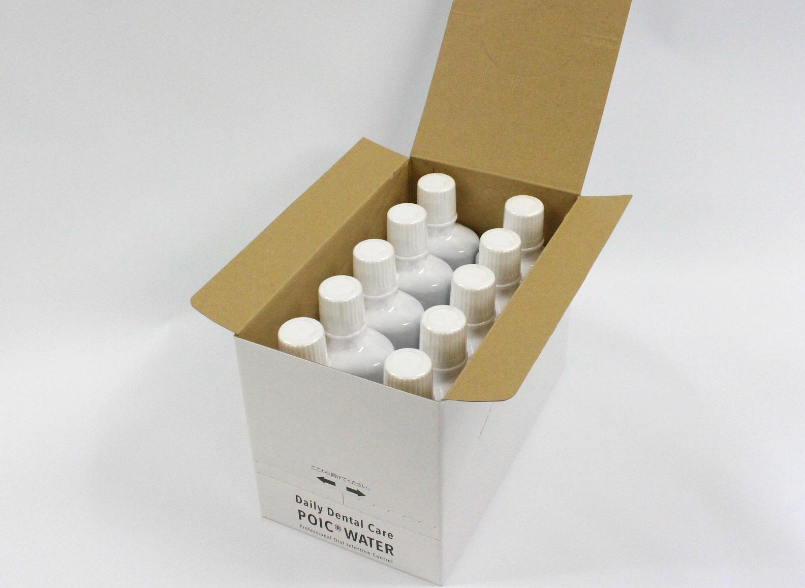 ポイックウォーター(POICウォーター)口腔洗浄液(500mlボトル×20本セット)※日本国内製造
