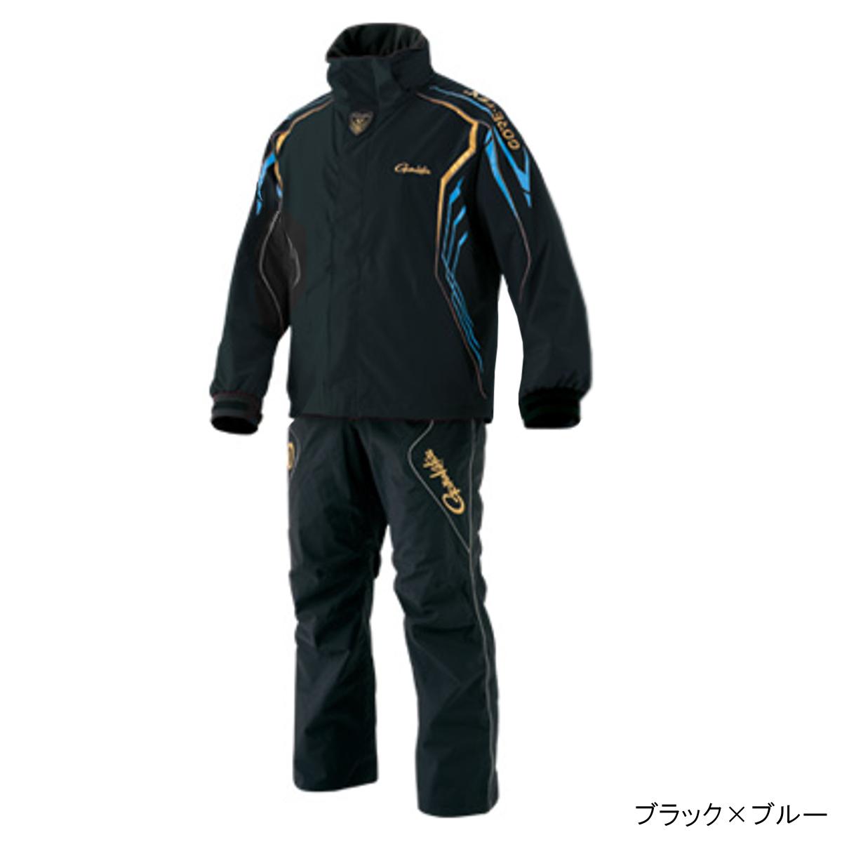 ゴアテックス レインスーツ GM-3500 LL ブラック×ブルー(東日本店)