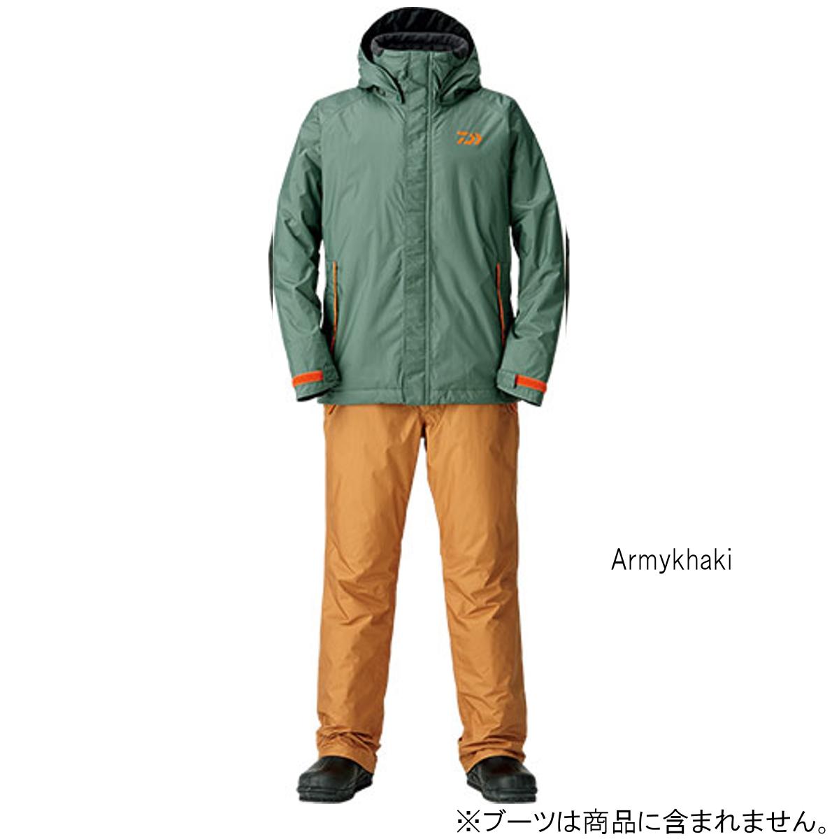 ダイワ レインマックス ウィンタースーツ DW-35008 L Armykhaki(東日本店)