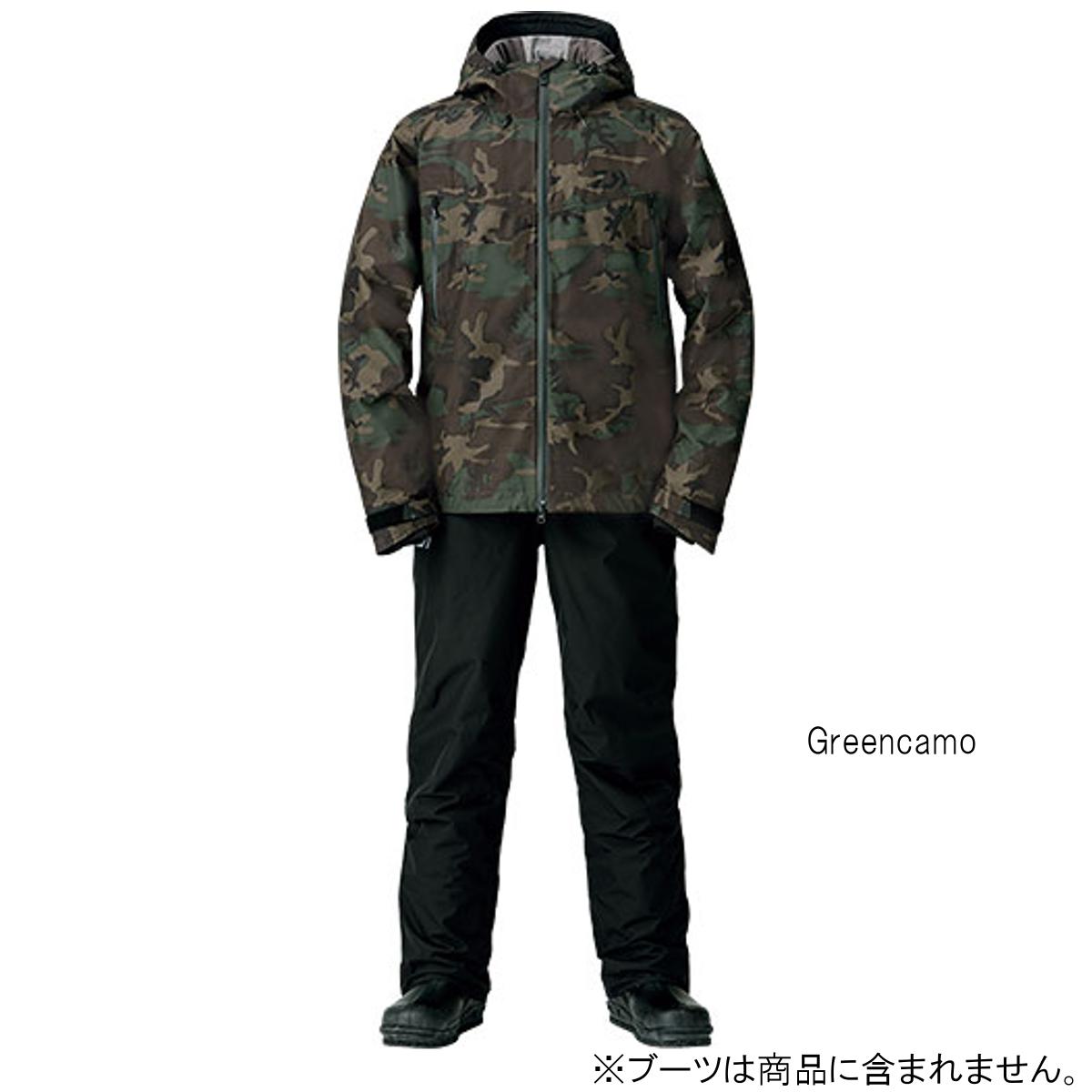 ダイワ ゴアテックス ファブリクス ウィンタースーツ DW-1908 2XL Greencamo(東日本店)