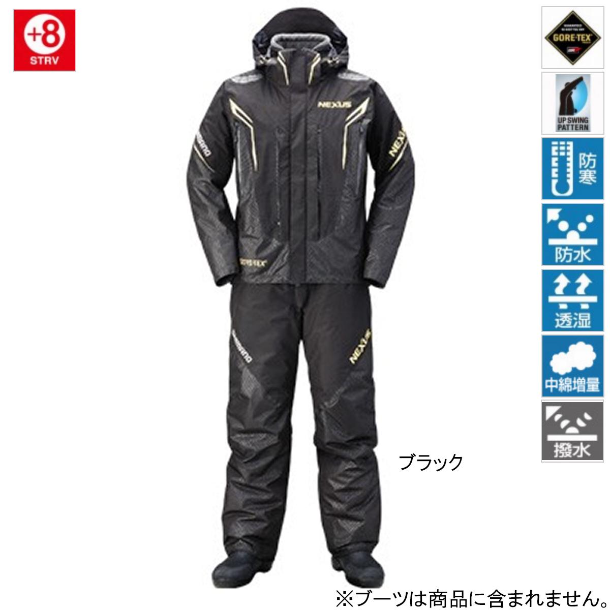 シマノ NEXUS・GORE-TEX コールドウェザースーツ EX RB-119R L ブラック(東日本店)