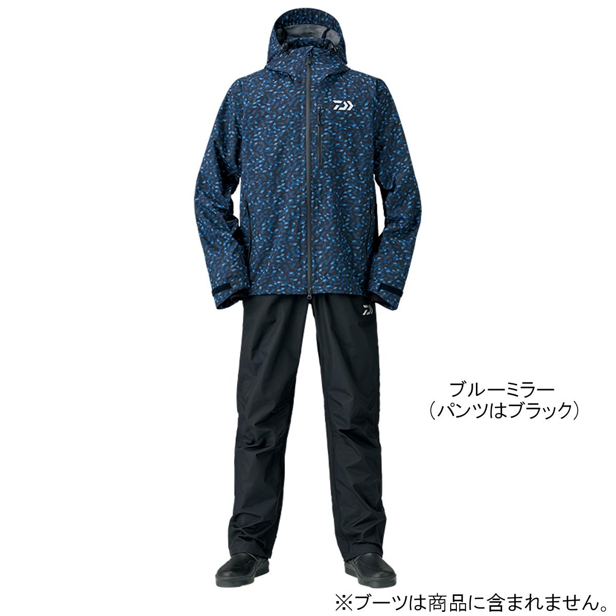 ダイワ レインマックス レインスーツ DR-33008 2XL ブルーミラー(東日本店)