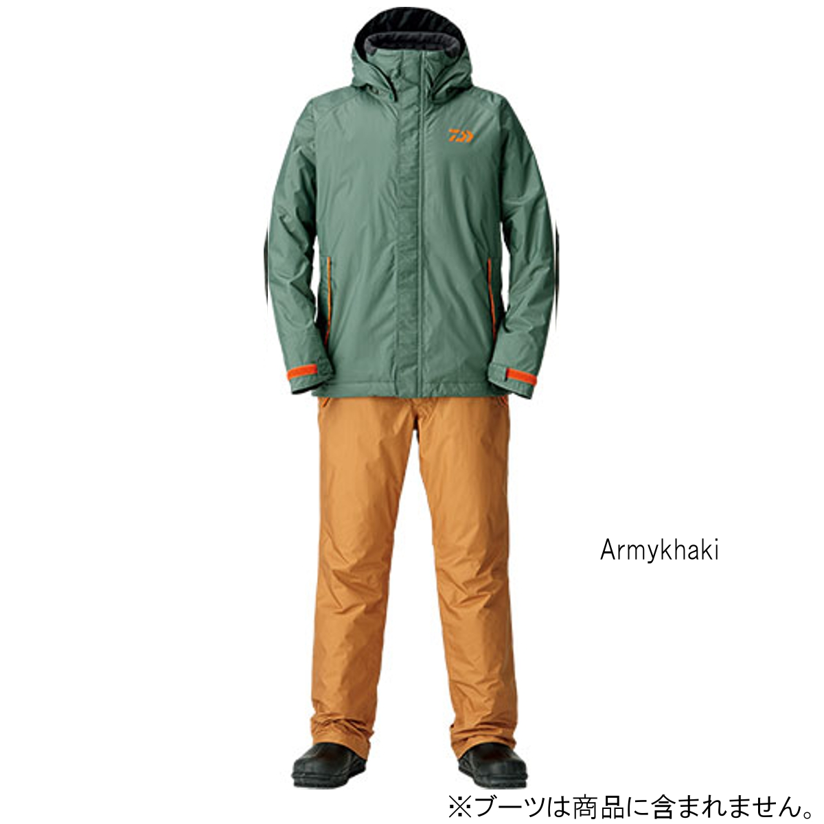 ダイワ レインマックス ウィンタースーツ DW-35008 2XL Armykhaki(東日本店)