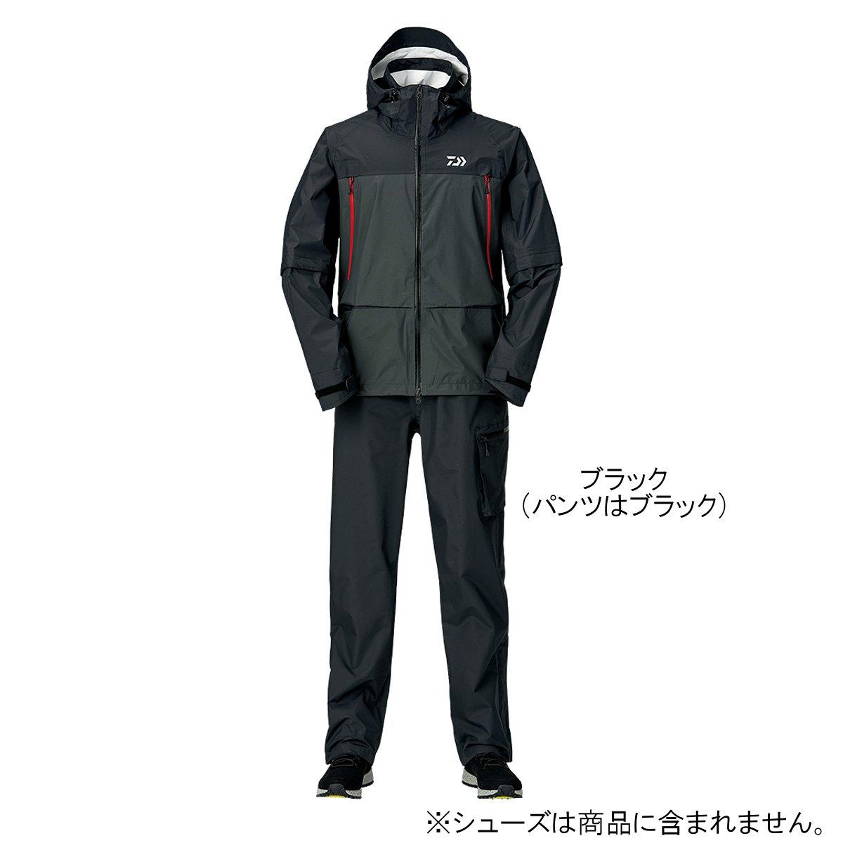 ダイワ レインマックス デタッチャブルレインスーツ DR-30009 L ブラック(東日本店)