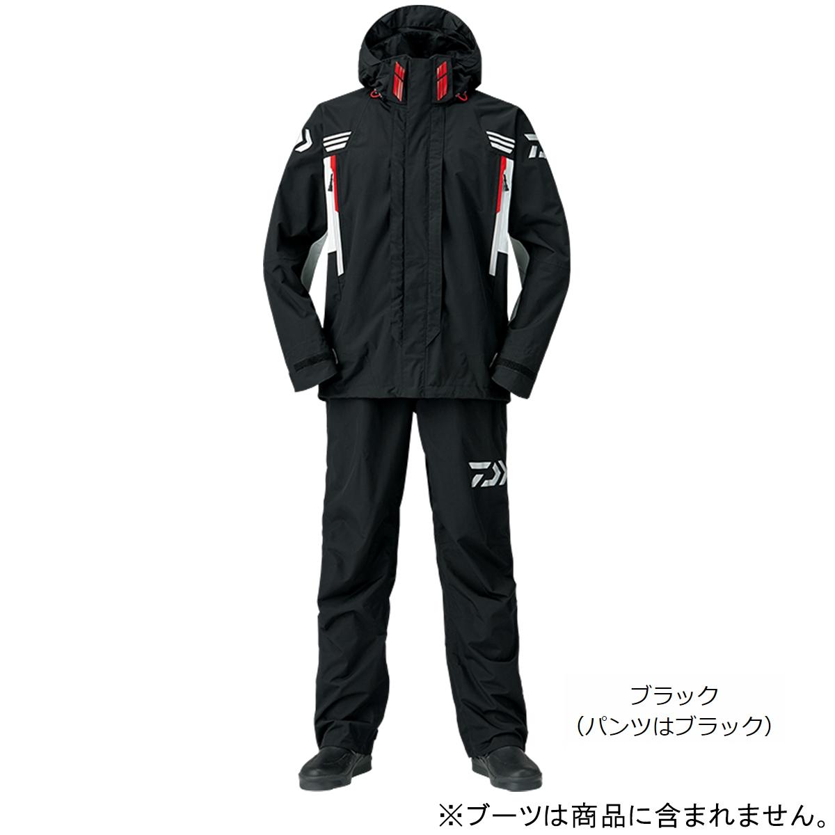 ダイワ レインマックス ハイパー コンビアップレインスーツ DR-3108 XL ブラック(東日本店)