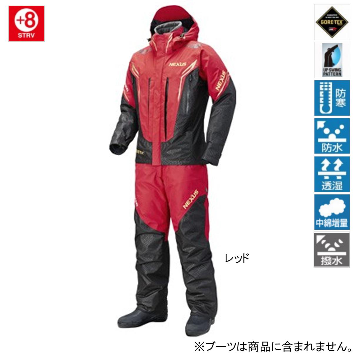 シマノ NEXUS・GORE-TEX コールドウェザースーツ EX RB-119R L レッド(東日本店)