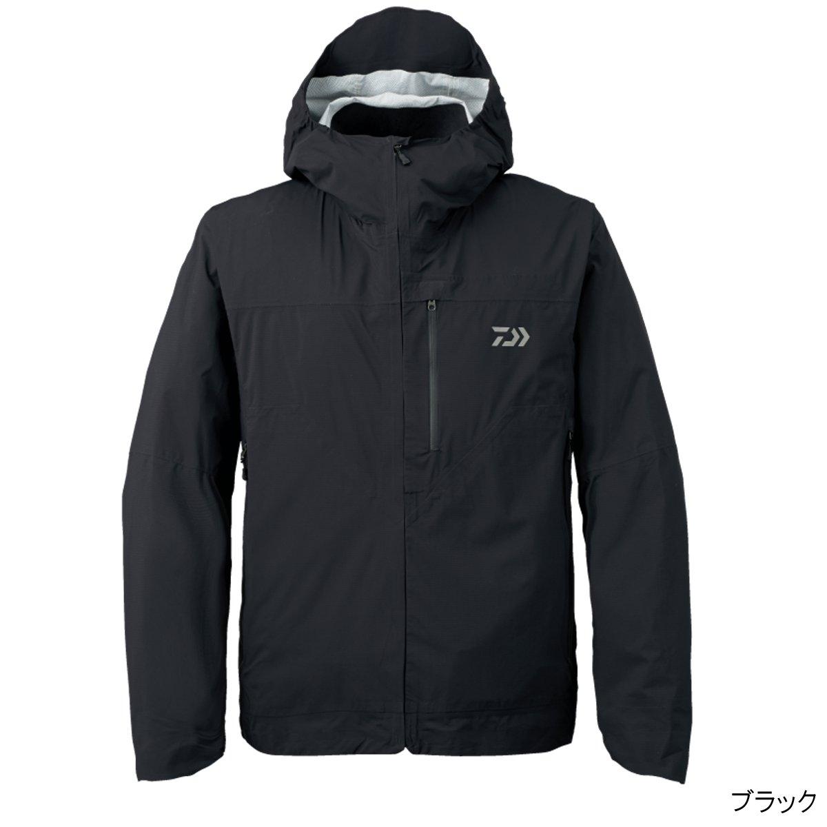 ダイワ レインマックス ポケッタブルレインジャケット DR-3207J M ブラック(東日本店)