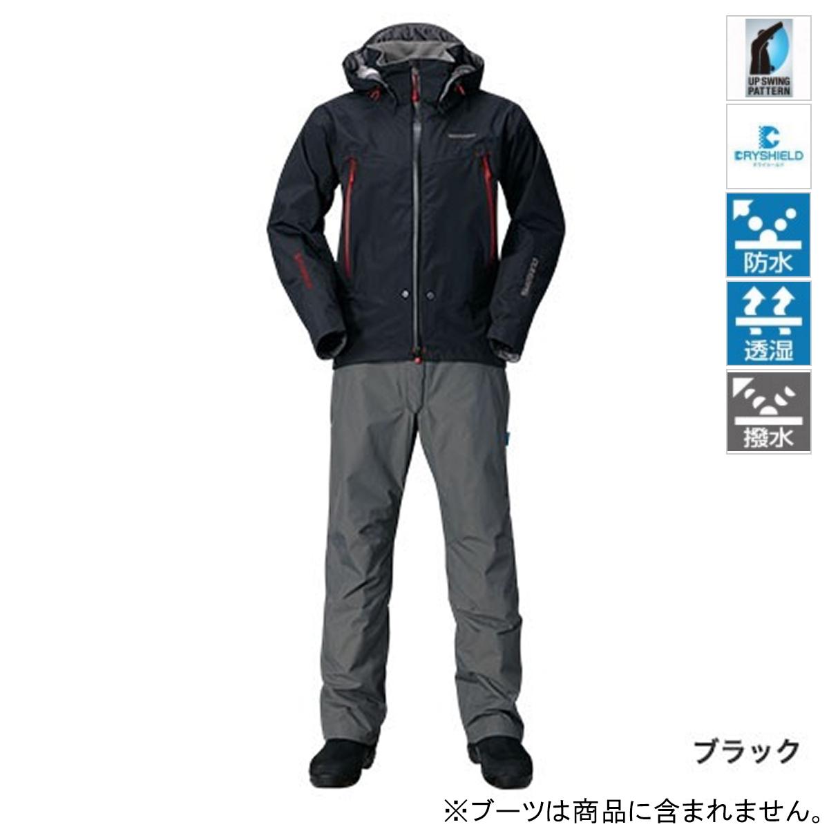 【4/1 24時間限定!エントリーで最大P31倍】シマノ DSアドバンススーツ RA-025Q L ブラック(東日本店)